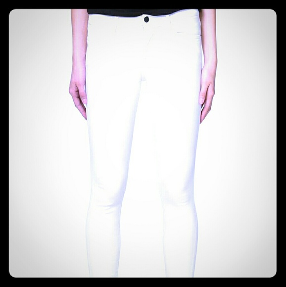 Frame Denim Jeans | Frame White Denim Size 27 Only Worn 1 | Poshmark